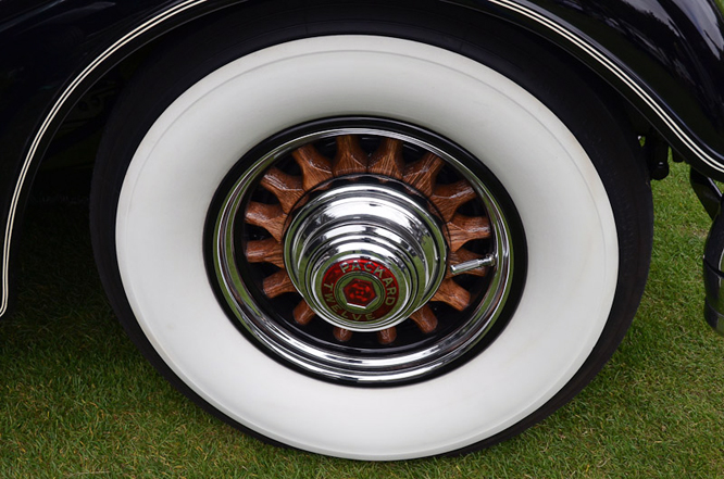 Packard 1107 12 Club Sedan, Hillsborough Concours d'Elegance