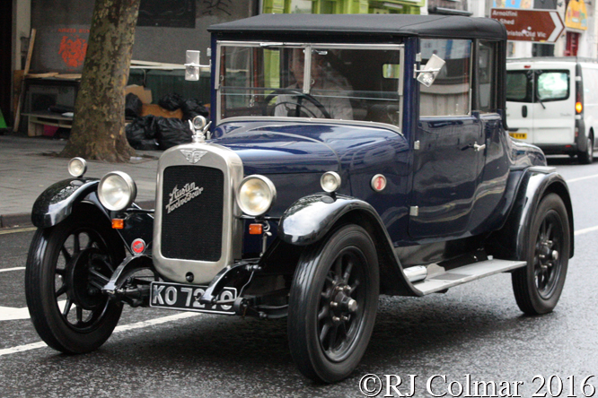 Austin 12/4, Avenue Drivers Club, Queen Square, Bristol,