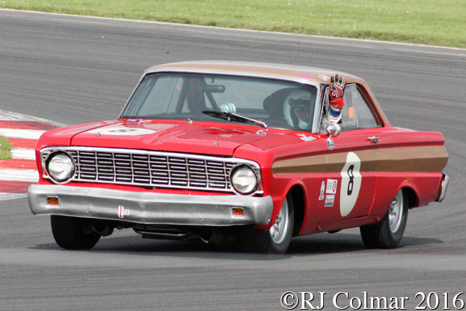 Ford Falcon, Leo Voyazides, HSCC International Trophy, Silverstone