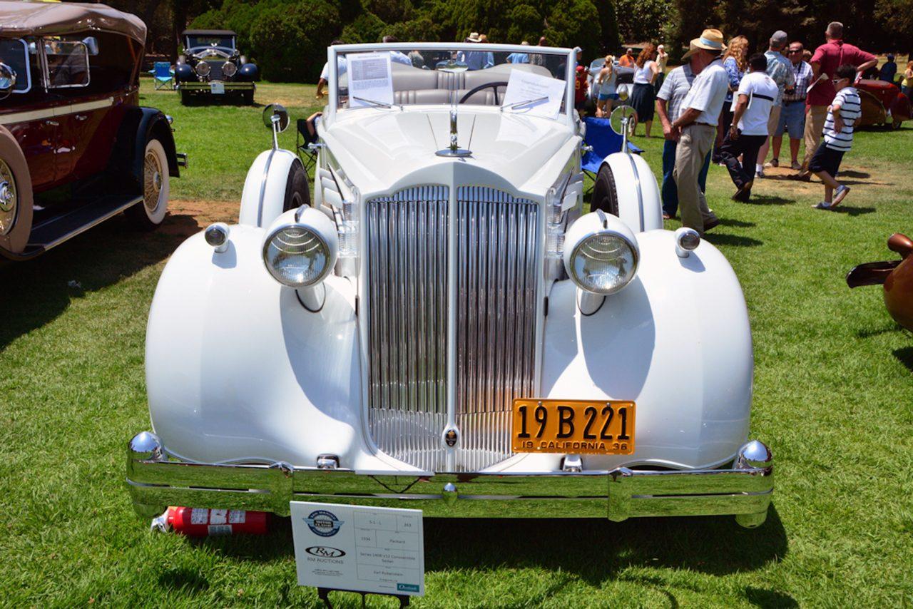 Convertible Sedan, San Marino Concours d'Elegance